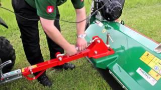 Wessex AF-120 flail mower