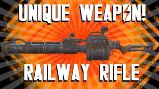 getlinkyoutube.com-Fallout 4 - Railway Rifle Gameplay (And How to Get It)