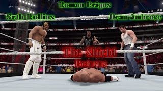 getlinkyoutube.com-The Shield Retuns - WWE 2K16 OMG Moment - Reigns - Ambrose - Rollins