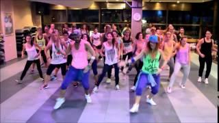 getlinkyoutube.com-Dance Fitness with Nevena & Goran - Hit the Rai Floor by Big Ali feat Cheb Akill