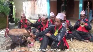 getlinkyoutube.com-६० वर्षिय बजैकाे कति मिठाे स्वर अाहा ... at Myagdi Takam panche baja part 3