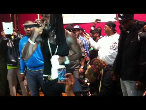 Last Video of 5 Mavado aka Gully God  Birthday December 1, 2011 @ White Eagle Club in Bridgeport, CT