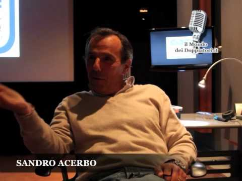 Intervista a SANDRO ACERBO (2012) | ilmondodeidoppiatori.it