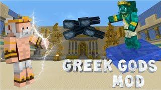 getlinkyoutube.com-Minecraft: GREEK GODS MOD! - Zeus, Poseidon & Hades vs. Earthbender