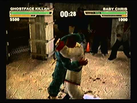 Def Jam Fight for NY - Ghostface Killah vs Baby Chris
