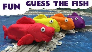 getlinkyoutube.com-Play Doh Covered Thomas The Tank Toy Trains Trackmaster Thomas And Friends Playdough Fish Song Tune