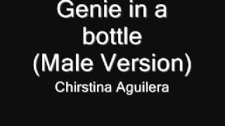 getlinkyoutube.com-Christina Aguilera - Genie in a bottle(male version)