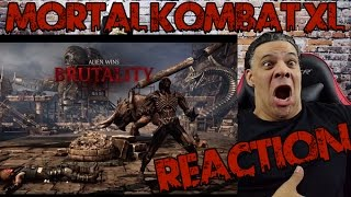 getlinkyoutube.com-Mortal Kombat XL: Every New Fatality X-Ray and Brutality Reaction