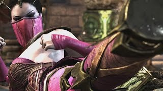 getlinkyoutube.com-Mortal Kombat X - Mileena/Tanya Mesh Swap Intro, X Ray, Victory Pose, Fatalities and Brutality