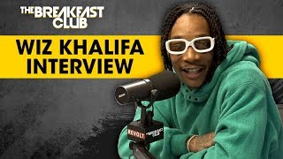 Wiz Khalifa Answers Stoner Questions, Talks Creating Waves, Amber Rose + More width=