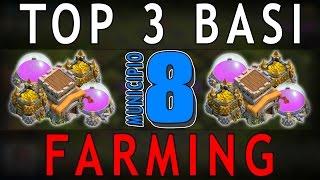 getlinkyoutube.com-MUNICIPIO 8 FARM [4 Mortai] - TOP 3 BASI #6 | Clash of Clans [TH8]