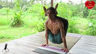 getlinkyoutube.com-Dwipada Shirshasana (two legs behind head posture)