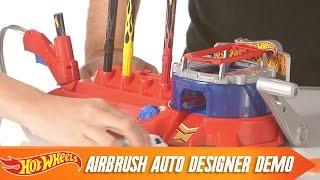 getlinkyoutube.com-Airbrush Auto Designer How-To Demo | Hot Wheels