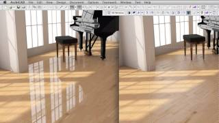 getlinkyoutube.com-ArchiCAD18 New Features: Creating a High-end Wood Surface Material