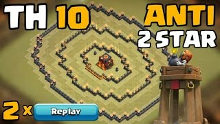 getlinkyoutube.com-Clash Of Clans - Town Hall 10 (TH10) War Base 2016 w/ Bomb Tower + Replays (October 2016)