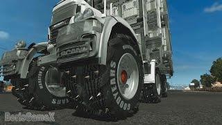 Scania Monster Truck -  Euro Truck Simulator 2 - Multiplayer - BigFoot