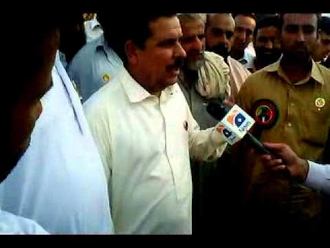 Ronaq zaman interview geo tv during byelection 201