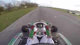 GoPro Hero 4 test - Tony Kart Rotax Senior