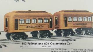 getlinkyoutube.com-Classic Lionel Trains - Early Series Passenger Cars 1915-1925