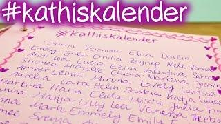 getlinkyoutube.com-#kathiskalender   VIELEN DANK   Schon über 100 Namen im Kalender   DIY Inspiration