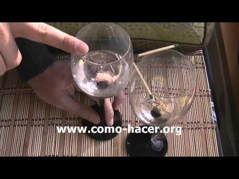 Experimentos caseros sencillos -  movimiento mediante sonido
