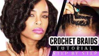 CROCHET BRAIDS w/ MARLEY HAIR! (step by step)