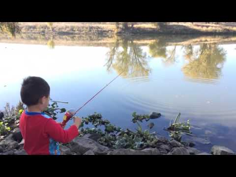 Lucas Tyler Buendia First Time Fishing