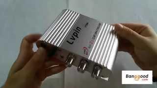 getlinkyoutube.com-50W 12V Super Bass Mini Hi-Fi Stereo Amplifier Booster Radio MP3/banggood.com