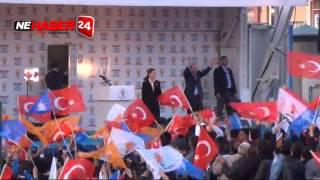 Başbakan Davutoğlu, Erzincan Mitinginde Halka Seslendi