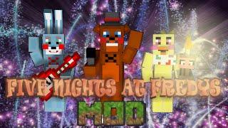 getlinkyoutube.com-El Mod Mas Epico De FNAF 2 ! | Minecraft 1.7.10 Mod Review | RetiredCard