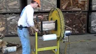 getlinkyoutube.com-TWISTER Firewood Wrapper - Mountain Firewood Kilns