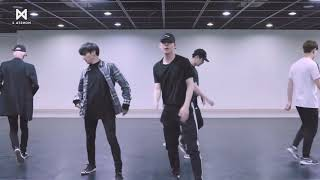 MONSTA X - JEALOUSY [DANCE PRACTICE + MIRRORED + SLOW 100%]