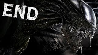 getlinkyoutube.com-Aliens Colonial Marines - Ending / Queen Final Boss - Gameplay Walkthrough Part 10
