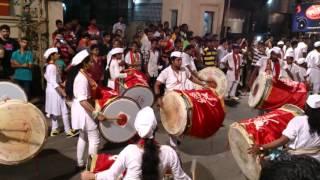 getlinkyoutube.com-Parleswar Dhol Tasha Pathak at Andhericha Raja
