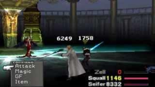 FFVIII Final Battle + ENDING - HD