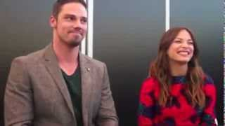 getlinkyoutube.com-Kristin Kreuk and Jay Ryan - JayKris Moments