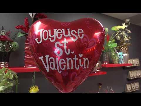 La Saint-Valentin, la fête des amoureux et des fleuristes