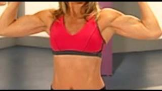 getlinkyoutube.com-5 Minute Arm Workout with Denise Austin