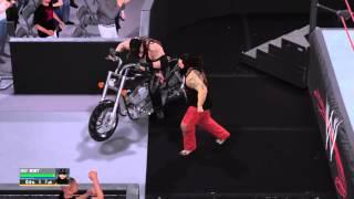 getlinkyoutube.com-WWE 2K16: Attacking Undertaker on Bike (Break Out)
