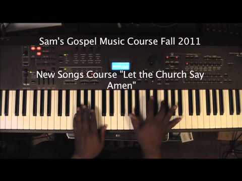 Sam's Gospel Music Fall Course 2011