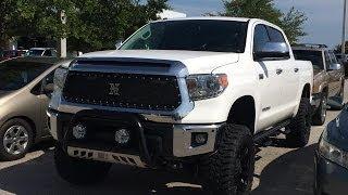 getlinkyoutube.com-Pro Comp 6 inch lifted 2014 Tundra