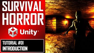 How To Make A Survival Horror Game In Unity - Beginner Tutorial Part 001