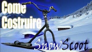 getlinkyoutube.com-Come costruire uno Snowscoot (Homemade SnowScoot)
