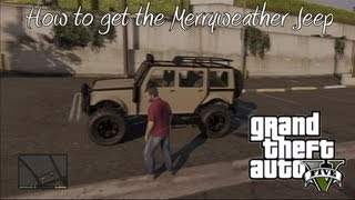 getlinkyoutube.com-*GTA 5* How To Get The Merryweather Jeep (Best Off-Road Truck) (Very Rare)