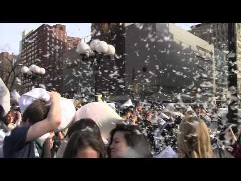 World's Largest Pillow Fight