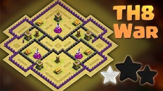 getlinkyoutube.com-TH8 War Base - Anti Everything - Anti 3 Star - 2016 - Clash of Clans