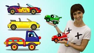 getlinkyoutube.com-Мультики про машинки все серии подряд. ПОМА и Маша Капуки Кануки. Развивающие мультики для детей