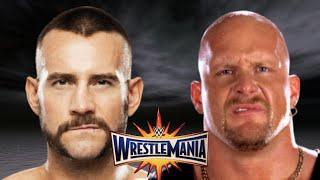 Stone Cold vs CM Punk Wrestlemania 33 Promo HD