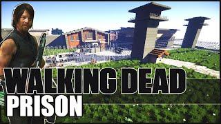 getlinkyoutube.com-Minecraft - The Walking Dead Prison