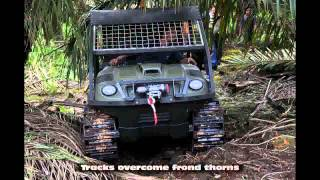 getlinkyoutube.com-Argo Titan 8x8 Oil Palm FFB Transporter On Peat Soilflv